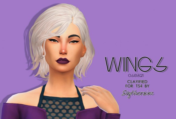 Slythersim: Wingssims OS0321 Clayified for Sims 4