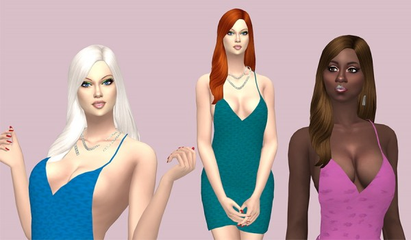 Sims Fun Stuff: Vikki Hair retextured for Sims 4