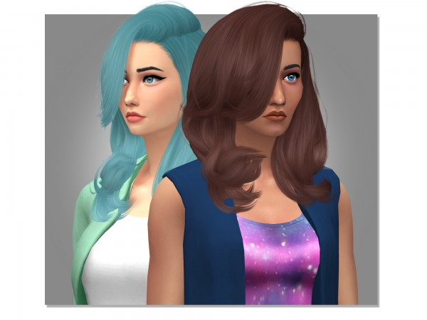 Simsworkshop: Stealthics Erratic Hair Retextured for Sims 4