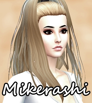 Mikerashi: Everyday Hair for Sims 4