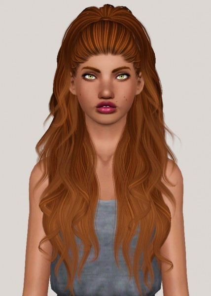 Slythersim: Anto`s Atenea and Carmin hair retextured for Sims 4