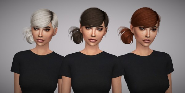 Aveline Sims: LeahLillith`s Alice hair retextured for Sims 4