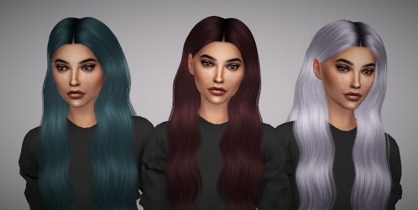 Aveline Sims: Ade Darma`sLorde hair retextured for Sims 4