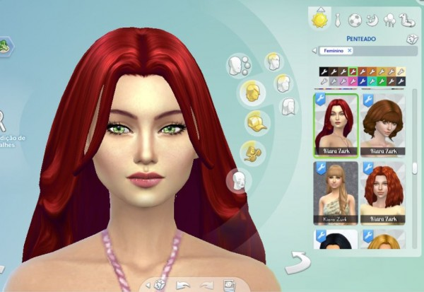 Mystufforigin: Madeline Hair for Sims 4