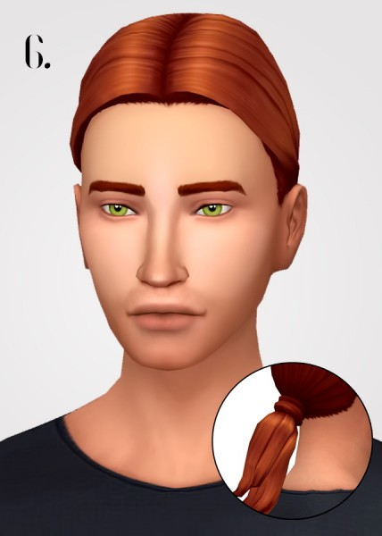 Tranquility Sims: Hair Dump recolored in naturals and unnaturals colors for Sims 4
