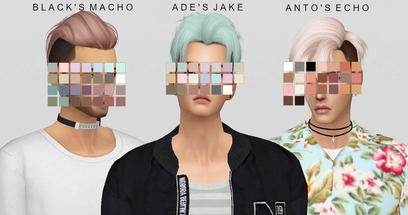Sims 4 Hairs Simsworkshop Hair Dump V 2 Recolor By Catsblob