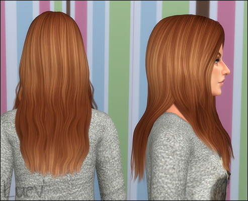 Mertiuza: Cazy`s taylr alphaedit hair for Sims 4