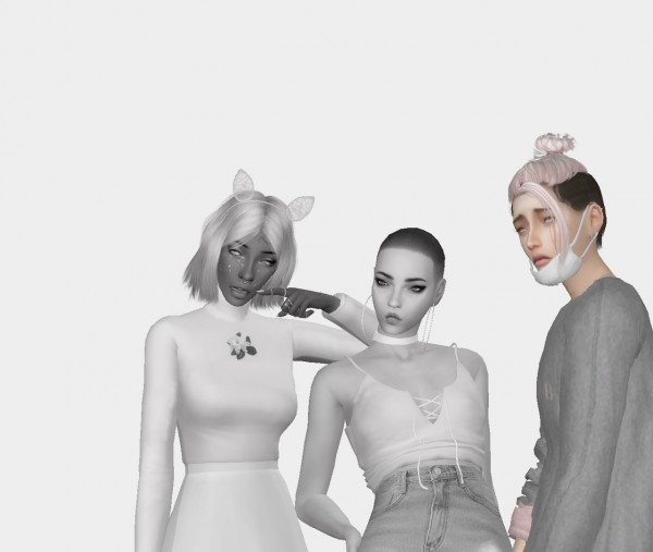 Simsworkshop: WINGs OS0116 Recolors by catsblob for Sims 4