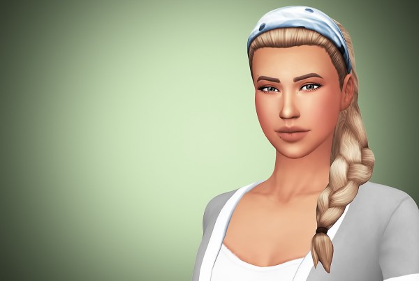 Littlecrisp: Britney's Clumsy Hairs  Recolored and Retextured for Sims 4