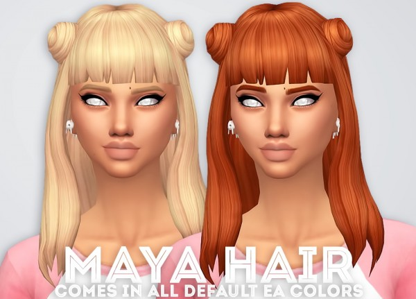 Ivo Sims: Maya Hair for Sims 4