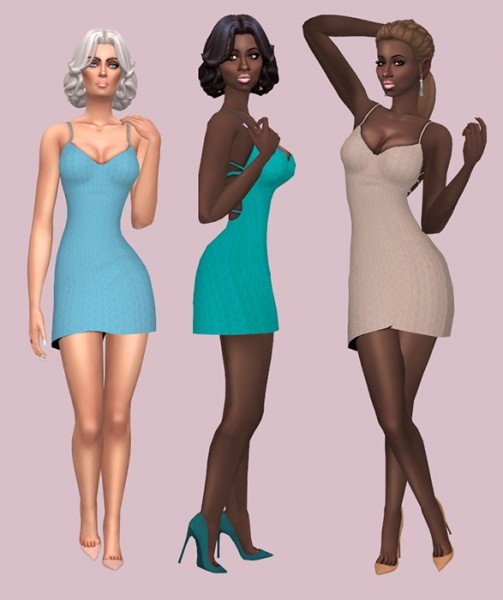 Sims Fun Stuff: Jacqueline and short pigtails hair recolors for Sims 4