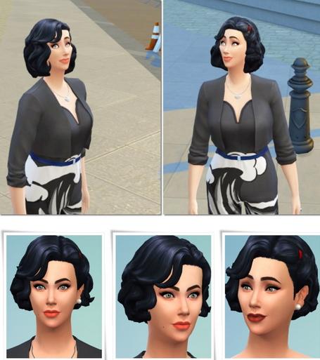 Birksches sims blog: Cinema hair for Sims 4