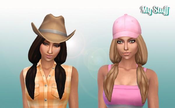 Mystufforigin: Candy Hair retextured for Sims 4