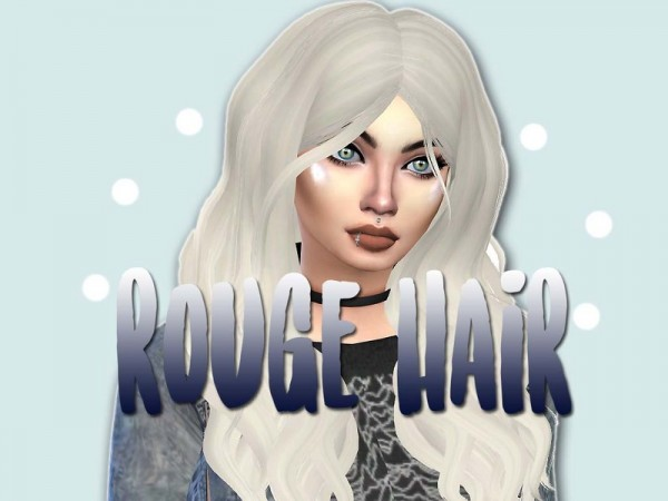 The Sims Resource: Leahlillith`s Natural Rogue Hair recolored by WhiteLillies for Sims 4
