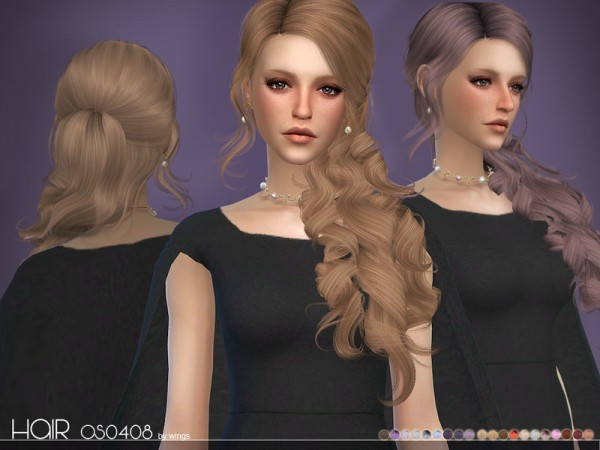 The Sims Resource: WINGS OS0408 F for Sims 4