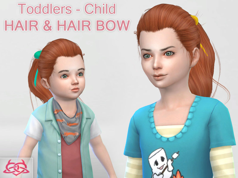 Sims 4 Hairs The Sims Resource Child And Toddler Hair