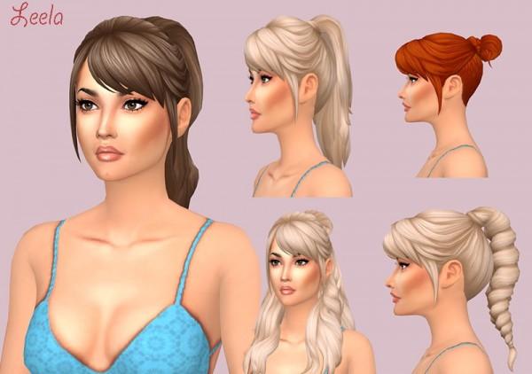 Sims Fun Stuff: Leela Hair for Sims 4