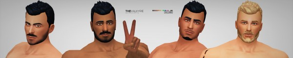 Simsworkshop: The Valkyrie hair by Xld Sims for Sims 4
