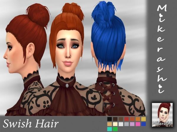 Mikerashi: Swish Hai for Sims 4