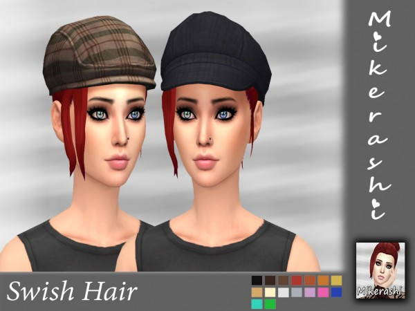Mikerashi: Swish Hai for Sims 4
