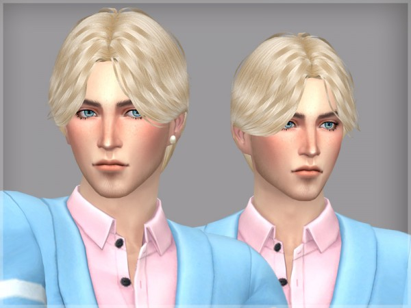 The Sims Resource: Hair LIMV by WistfulCastle for Sims 4
