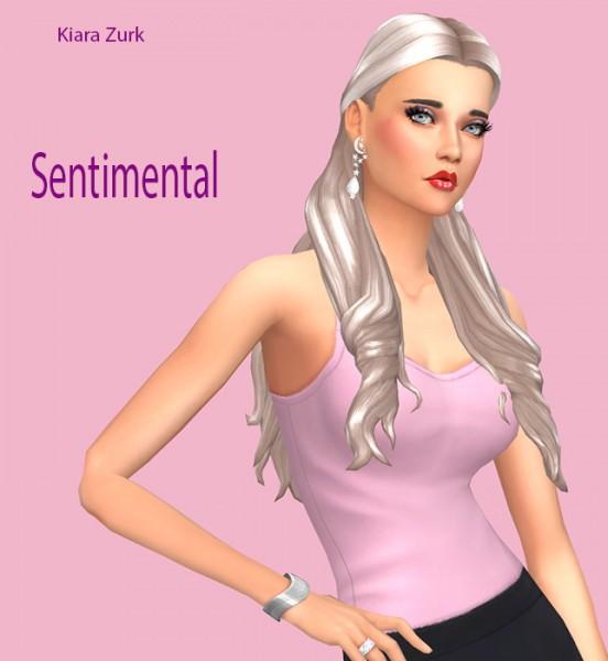 Sims Fun Stuff: Kiara`s hairs retextured for Sims 4