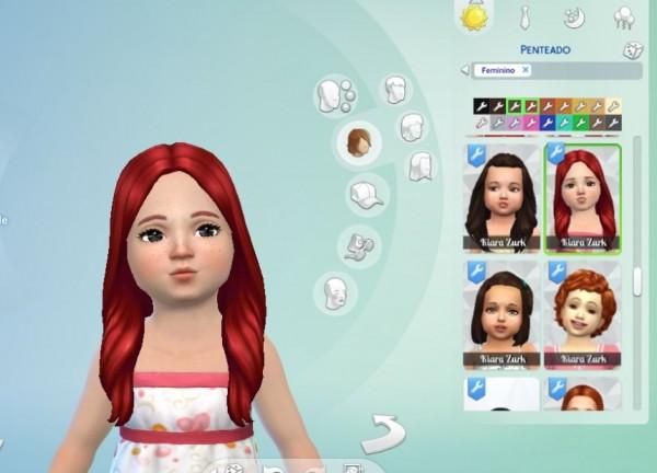 Mystufforigin: Oblivion Hair for Toddlers for Sims 4