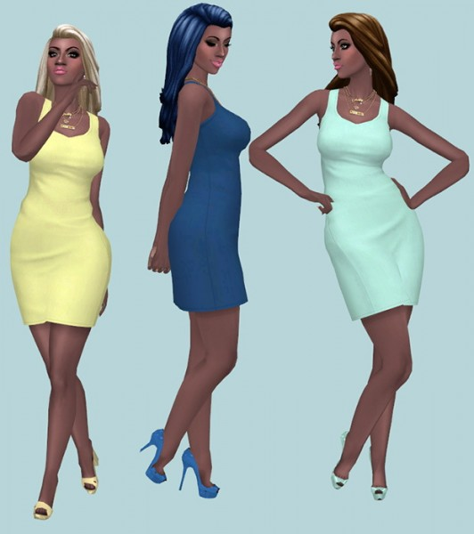 Sims Fun Stuff: Kiara Zurk`s side pony, City and modest bun hairs recolor for Sims 4
