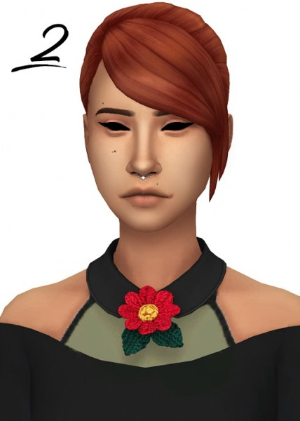 Tranquility Sims: Dine Out Hairs recolored in Naturals and Unnaturals colores for Sims 4