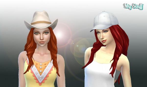 Mystufforigin: Ema hair V2 for Sims 4