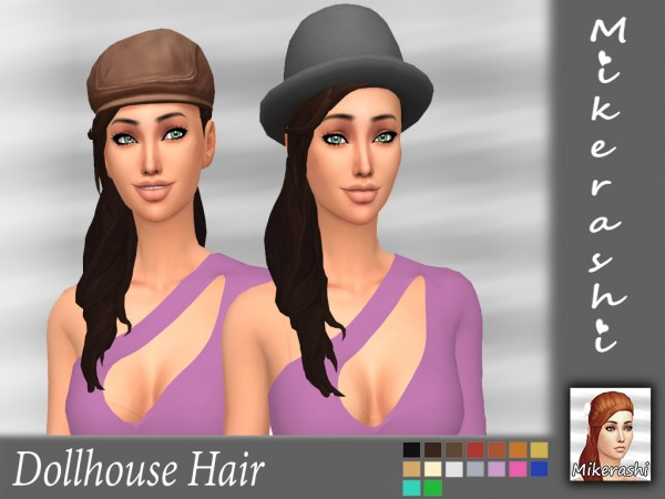 Mikerashi: Dollhouse Hair for Sims 4