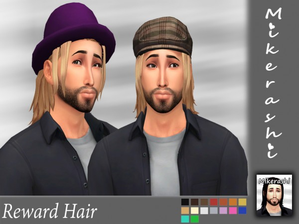 Mikerashi: Reward Hair for Sims 4