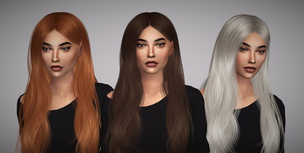 Aveline Sims: S Club` Anna hair retextured for Sims 4