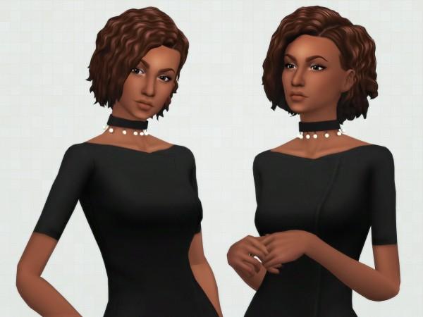 Kot Cat: Breona hair retextured for Sims 4