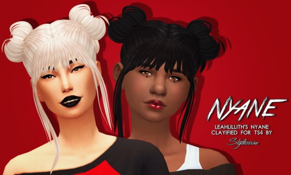Slythersim: LeahLillith's Nyane Clayified for Sims 4