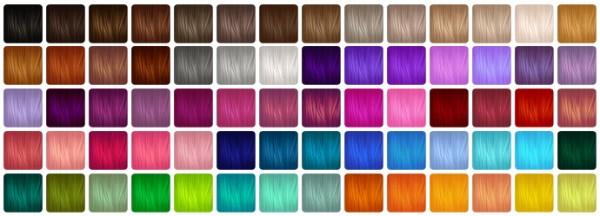 Aveira Sims 4: Leela Hair V3 hair recolored for Sims 4