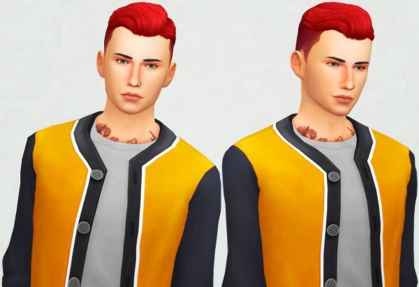 Kot Cat: James hair retextured for Sims 4