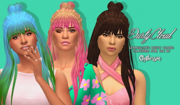 Slythersim: LeahLillith's Dusty Cloud Clayified for Sims 4