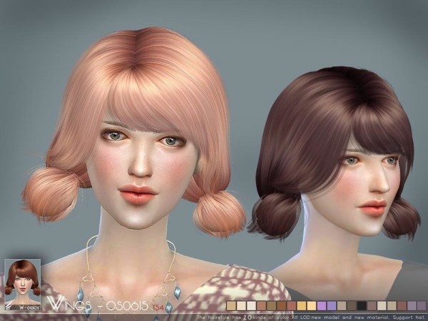 The Sims Resource: WINGS OS0626 by wingssims for Sims 4