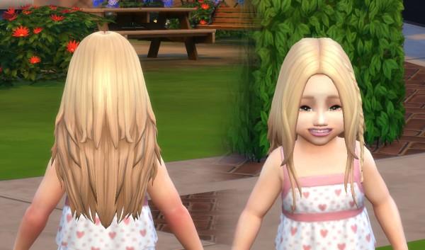 Mystufforigin: Germania hair for toddlers for Sims 4