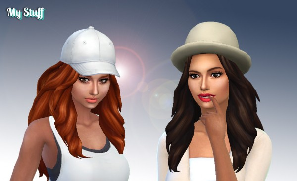 Mystufforigin: Daniella Hair for Sims 4