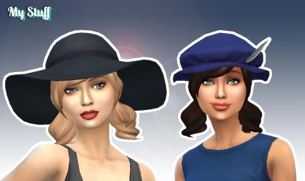 Mystufforigin: Dolly Hair Version 2 for Sims 4