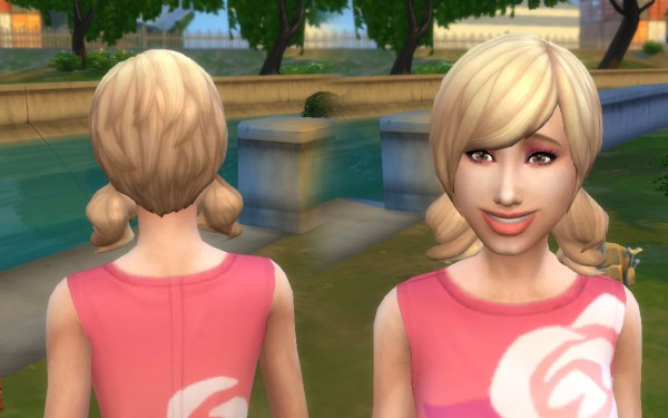 Mystufforigin: Dolly Hair Version 2 for Sims 4