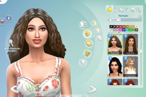 Mystufforigin: Long Twists hair for Sims 4
