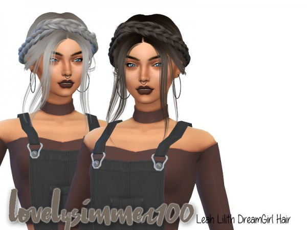 Simsworkshop: LeahLilith`s Dreamgirl hair recolored by xLovelysimmer100x for Sims 4