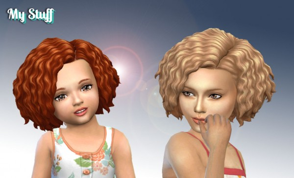 Mystufforigin: Twists Hairstyle Conversion for Sims 4