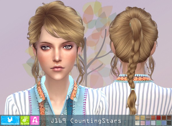 NewSea: J169 Counting Stars for Sims 4