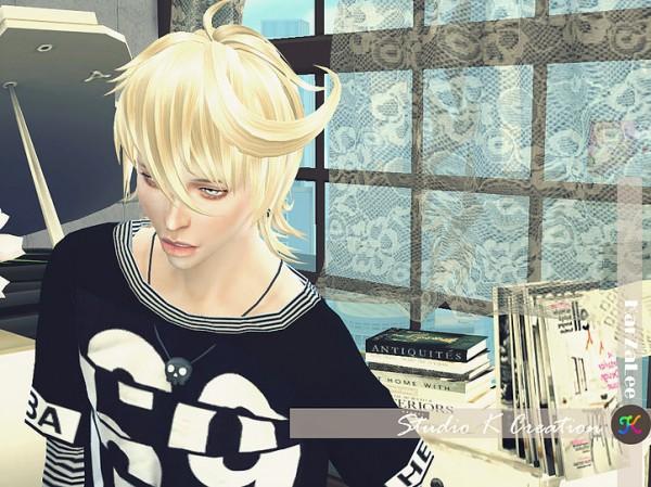 Studio K Creation: Animate hair 85   Sakuya for Sims 4