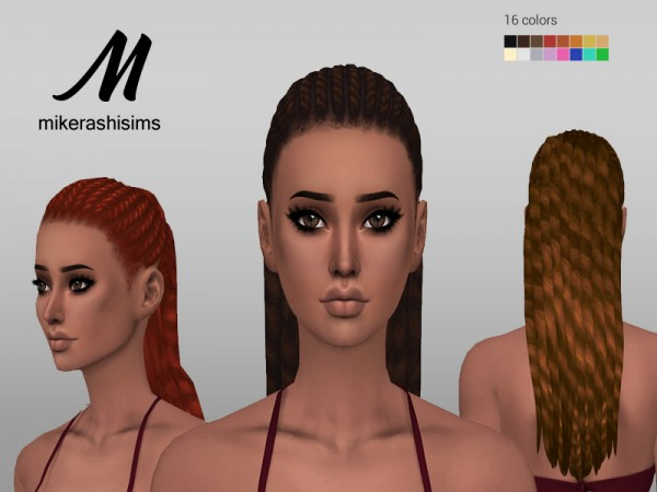 Mikerashi: Funky Hair for Sims 4