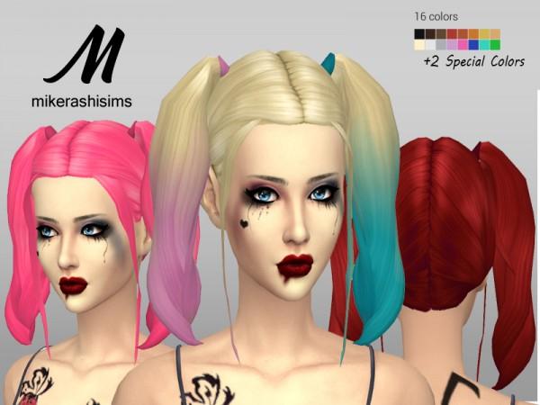 Mikerashi: Margot Hair for Sims 4